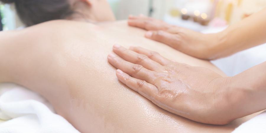 essential oil massage